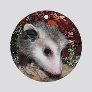 Holiday Possums Ornament (Round)